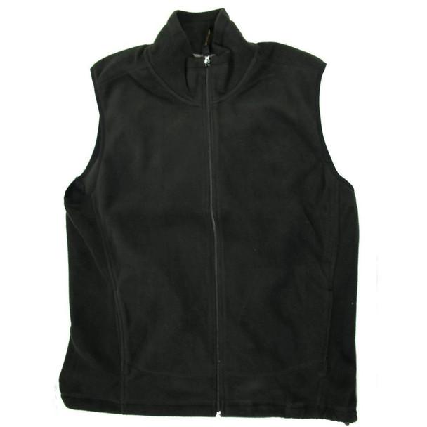 Uzi Lightweight Zip-Up Fleece Vest w/ Handwarmer Pockets