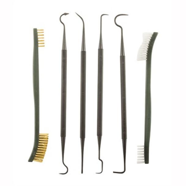 Battle Steel Nylon Pick & Brush Set