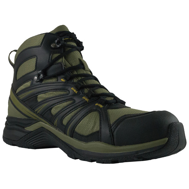 Altama 353206 Men's Aboottabad Trail Mid Hunter Green WP Boots