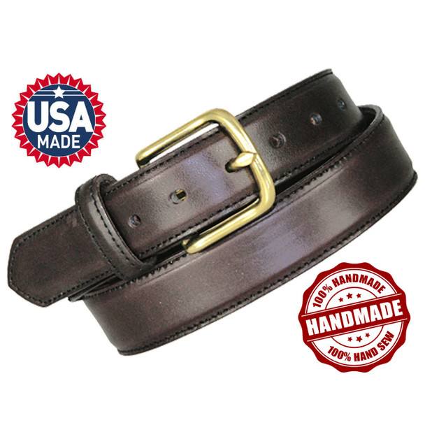 Battle Steel Triple Layered Leather Gun Belts