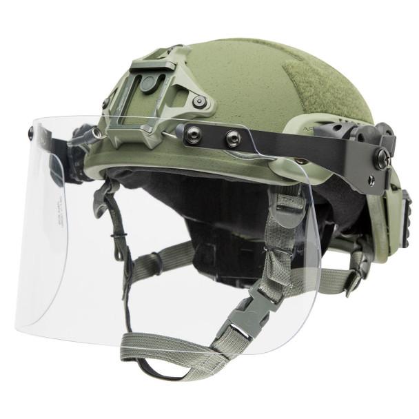 Paulson DK7-H Rail Mount Riot Face Shield