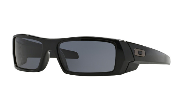 Oakley Men's Gascan Polished Black Frame Grey Lenses