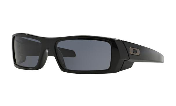 Oakley Men's Gascan Polished Black Frame Grey Lenses