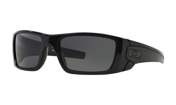 Oakley Men's Fuel Cell Polished Black Frame Warm w/ Grey Lens