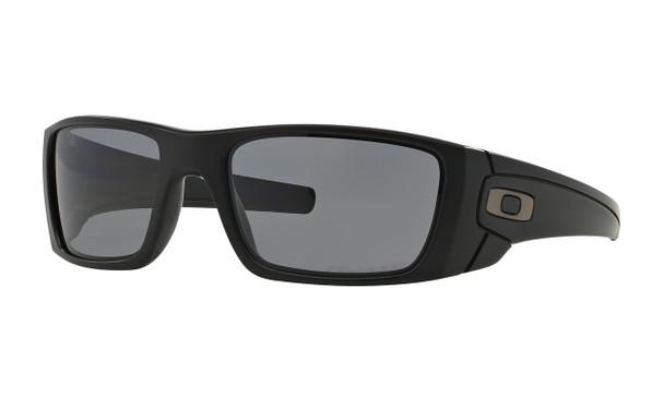 Oakley Men's Fuel Cell Matte Black Frame Grey Polarized Lenses