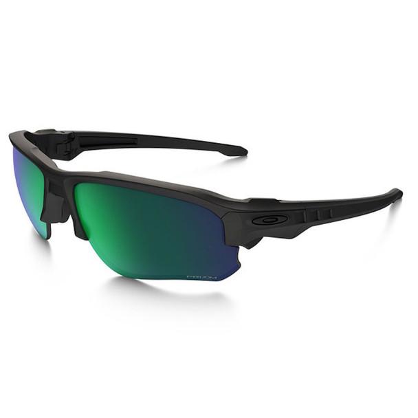 Oakley Men's Si Speed Jacket Matte Black Frame Prizm Maritime Lenses