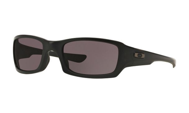 Oakley Men's SI Fives Squared Matte Black Frame Warm Grey Lenses