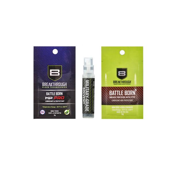 Breakthrough Military Grade Solvent, HP Pro Oil,  Sample Pack 3/Pack