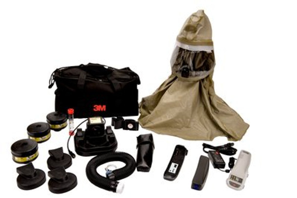 3M Breathe Easy RBE-10BR PAPR Powered Air Purifying Respirator System Kit