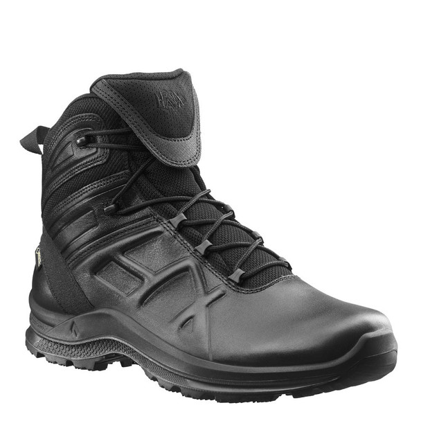 "Haix 340002 Black Eagle Tactical 2.0 GTX Mid 6"" Black Boots"