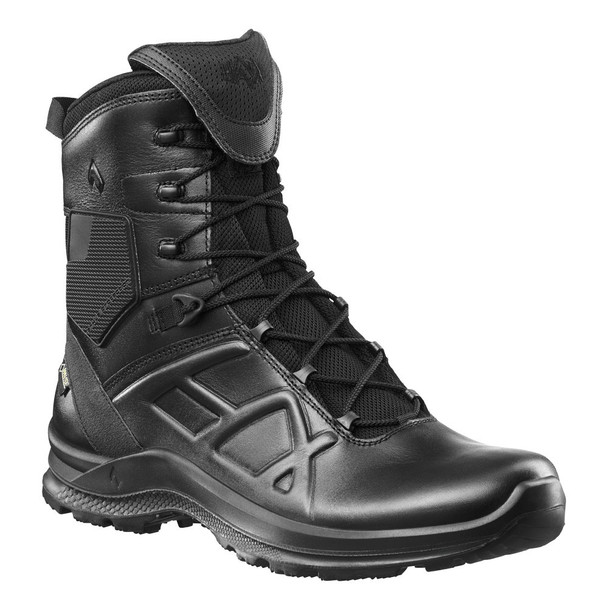 "Haix 340003 Black Eagle Tactical 2.0 GTX High 8"" Black Boots"