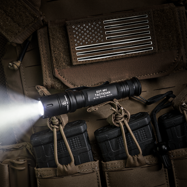 SureFire E2T-MV Tactician Dual-Output MaxVision Beam LED Flashlights 800 Lumens