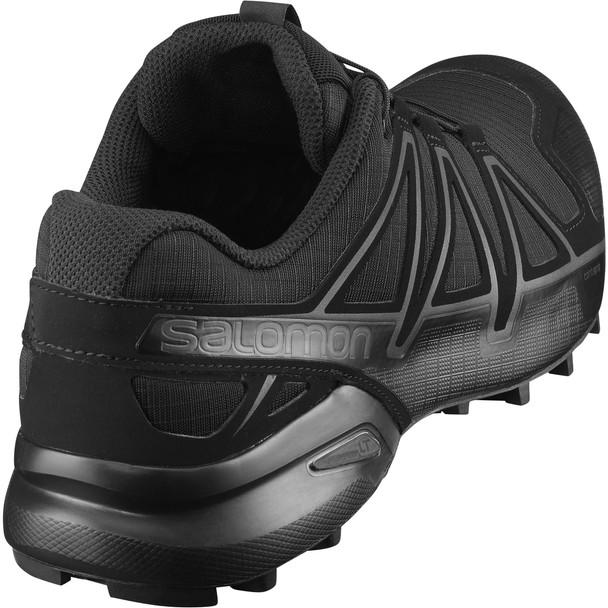 Salomon L40143600 Speedcross 4 Forces Wide Black Shoes