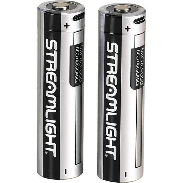 Streamlight SL-B26 USB Rechargeable Lithium Batteries 2/Pack