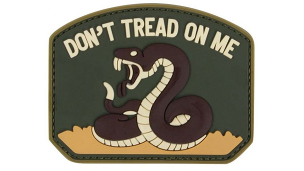 Condor PVC Don't Tread On Me Patches