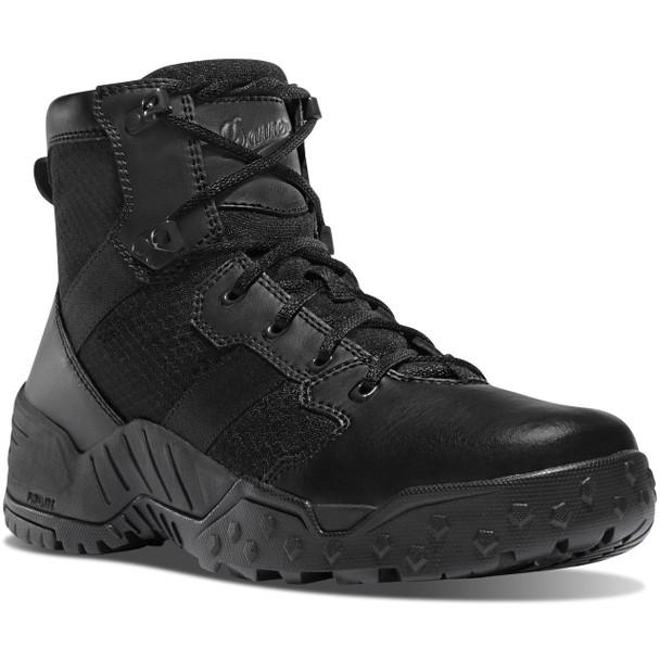 "Danner 25730 Black 6"" Scorch Side-Zip Tactical Boots"
