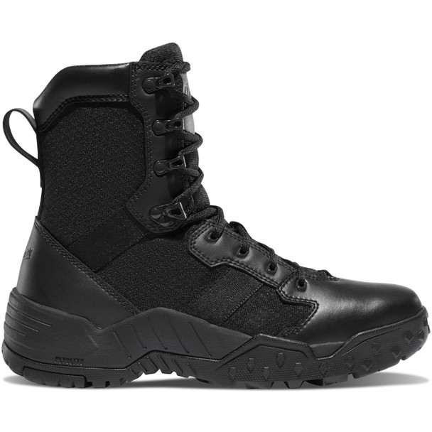 "Danner 25732 Black 8"" Scorch Side-Zip Tactical Boots"