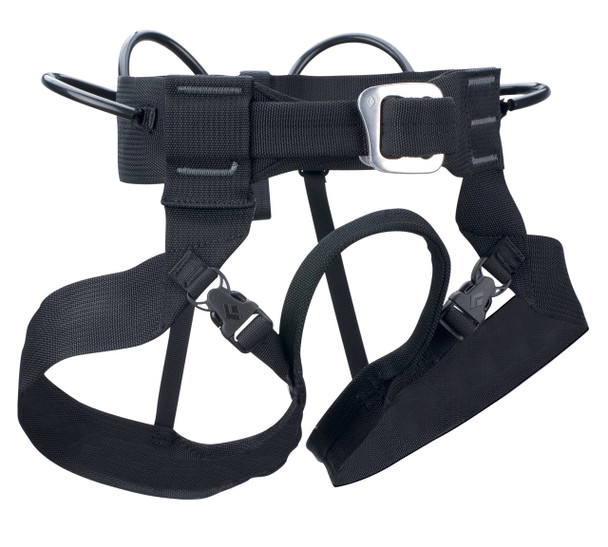Black Diamond Alpine Bod Black Harness