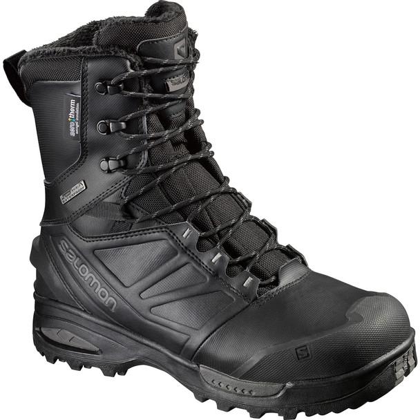 Salomon L4016500 Men's Toundra Forces Black Boots