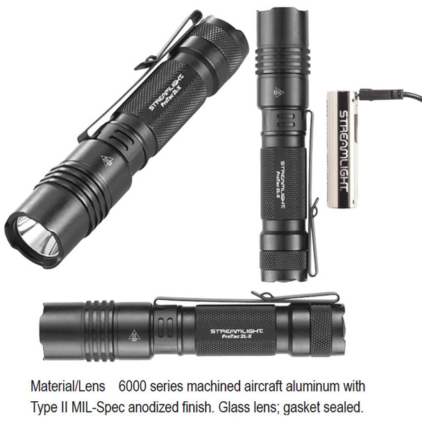 Streamlight 88083 ProTac 2L-X USB Rechargable Programable Flashlight 500 Lumens