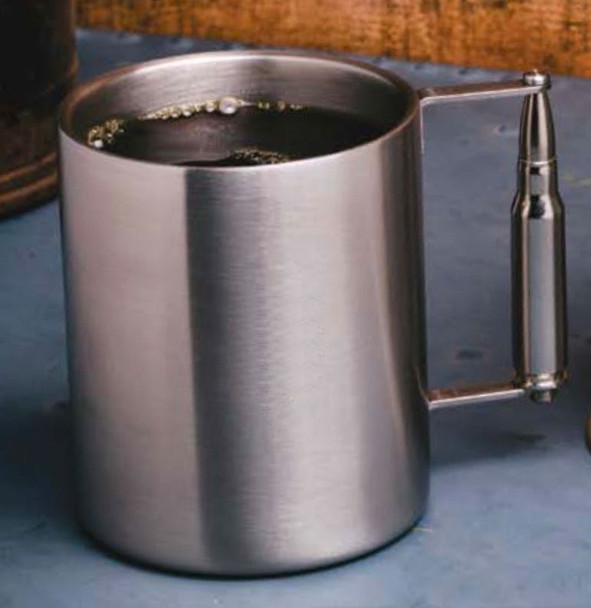 2 Monkey .308 Stainless 8oz. Coffee Mug