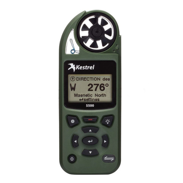 Kestrel 5500 Weather Meters w/Link & Vane Mount