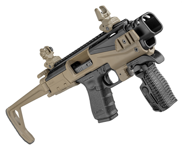 FAB KPOS Scout PDW Conversion For Glock Pistols