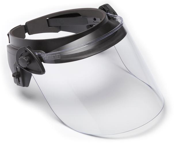 "Paulson DK6-X.250AF-N Riot Face Shield - Anti-Fog & Hard Coated / .250"" Thick"