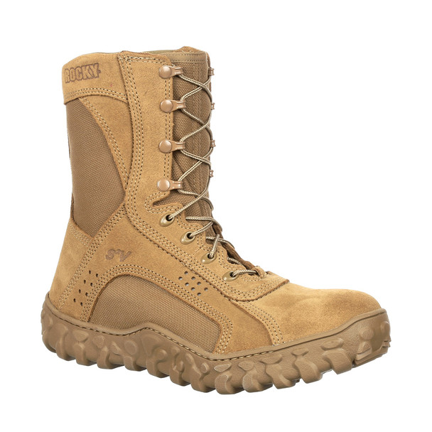 Rocky RKC053 S2v Steel Toe Boots COYOTE BROWN USA