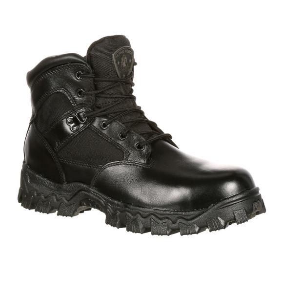 Rocky 4167 Womens Alpha Force 6 in. Duty Boots BLACK