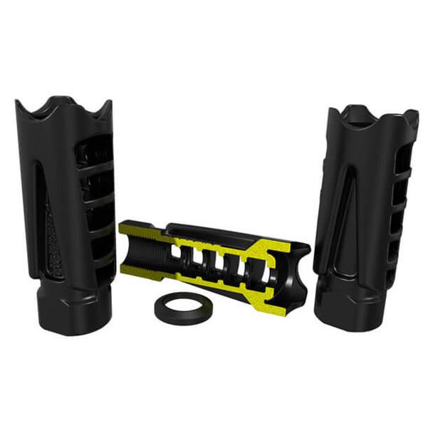 Hiperfire HIPERCOMP 556CQ 5.56mm Muzzle Compensator w/ Crush Washer