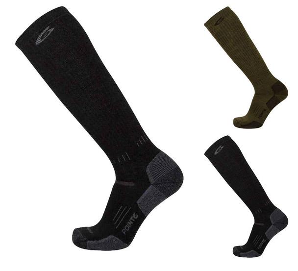 Point 6 37.5 Tactical Patriot Medium Over The Calf Socks
