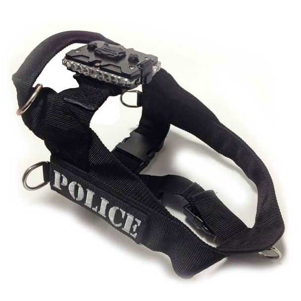 Canine Harness & Mount – Small (includes 2 patches).  For canines weighing 15 to 27 lbs. Device securely attaches to the Canine Harness using the Strap Clip Mount, which is included.  Canine Harness & Mount – Medium (includes 2 patches.  For canines weighing 40 to 60 lbs. Device securely attaches to the Canine Harness using the Strap Clip Mount, which is included.  Canine Harness & Mount - Large (includes 2 patches).  For canines weighing 60 to 80 lbs. Device securely attaches to the Canine Harness using the Strap Clip Mount, which is included.