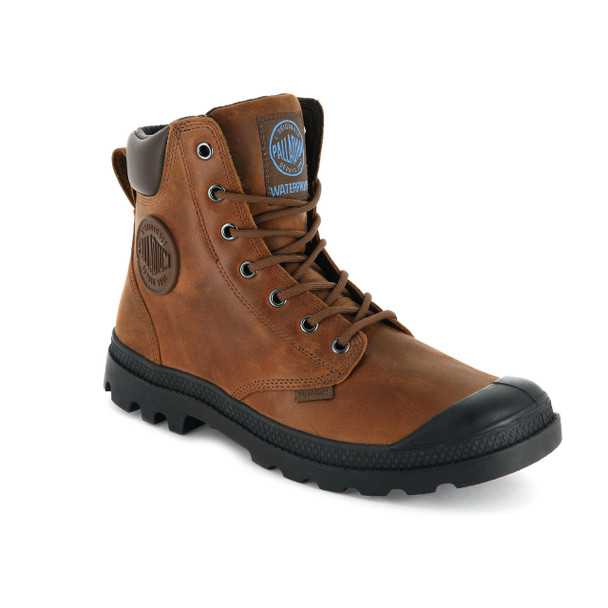 Palladium Men's Pampa Cuff WP Lux Sunrise/Carafe Boots