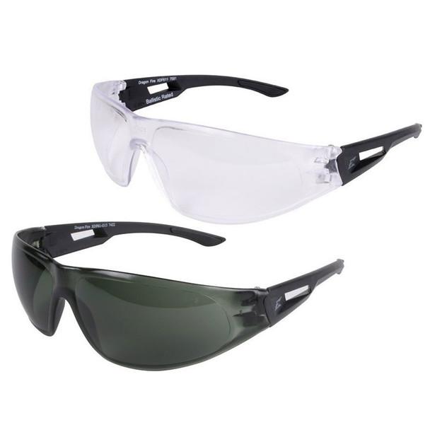 Edge Dragon Fire Ballistic Anti-Fog Anti-Scratch Eyewear Set