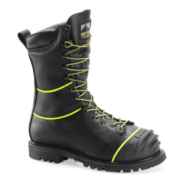 """Matterhorn MT902 Black 10"""" Insulated Waterproof Boots"""