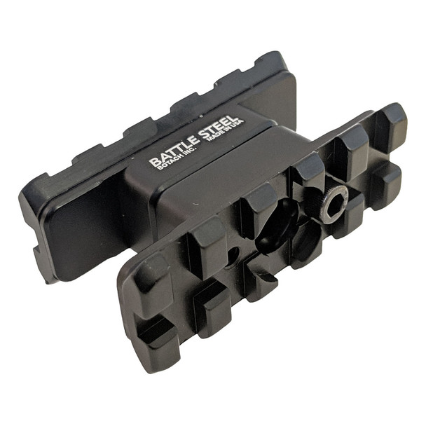 Battle Steel AR15/M4 Dual Rail Front Sight Accessory / Sling Mount