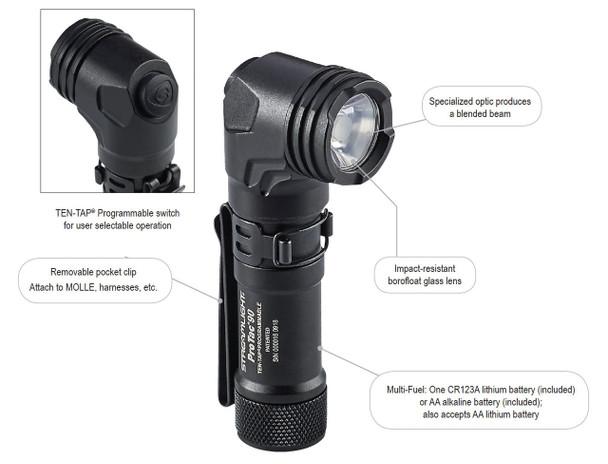 Streamlight 88088 ProTac 90 Right Angle Flashlight