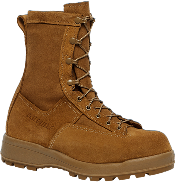"Belleville C775 8"" Insulated Waterproof Coyote Boots"