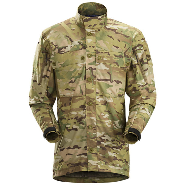 ArcTeryx Recce Light Multicam Mens Shirt