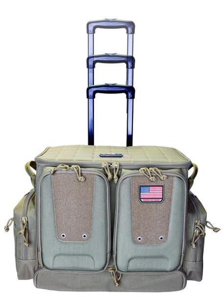 G Outdoors Tactical Rolling Range Bag