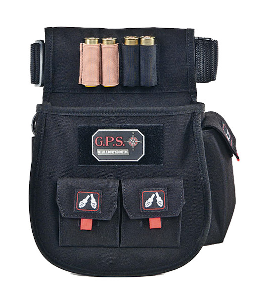 G Outdoors Deluxe Shotgun Double Shell Pouch