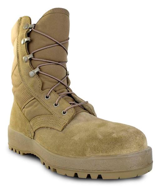 McRae 8989 Mil-Spec Hot Weather Steel-Toe Coyote Boots