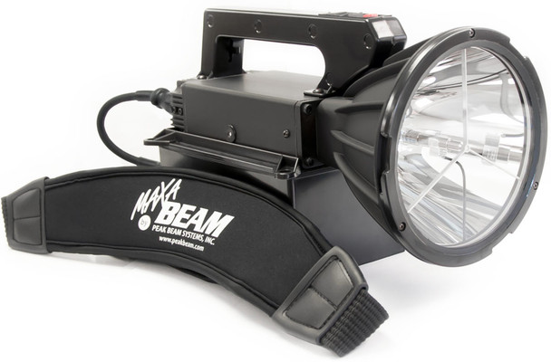 Maxa Beam MBPKG-MP 12,000,000 Candlepower Motion Picture Package w/ two LiFePO4 Batteries & Storage Case