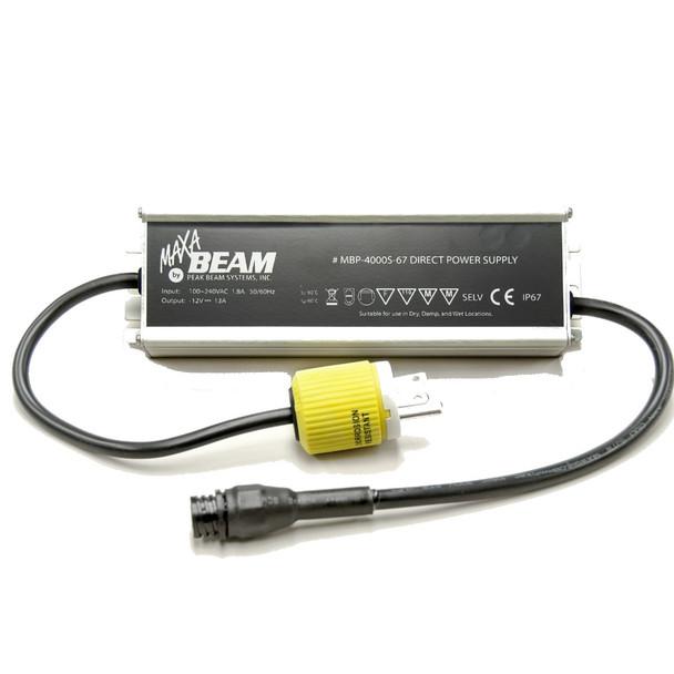 Maxa Beam MBP-4000S-67 Power Supply, 100-240VAC