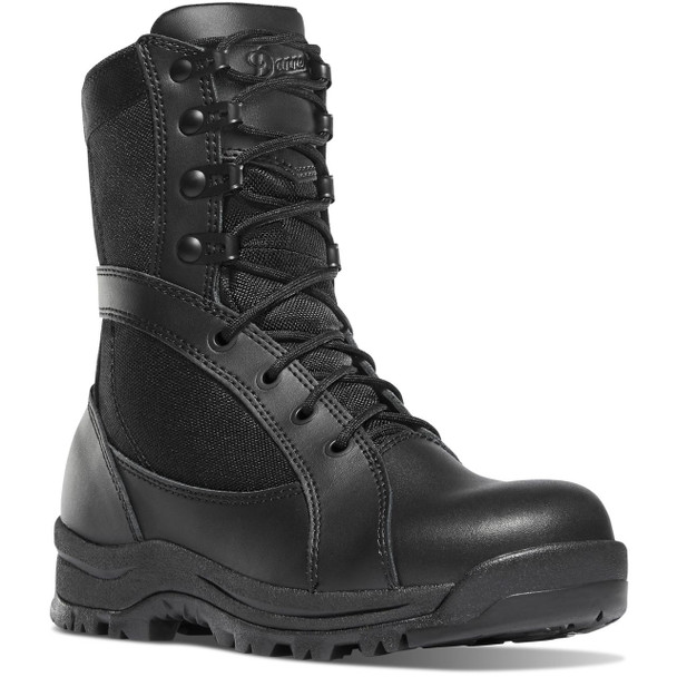 Danner Women's Prowess Side Zip Black Hot Boots