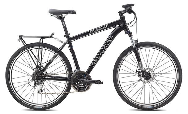 Fuji 2013 Police Patrol Mountain Bicycles 26-Inch Wheels BLACK
