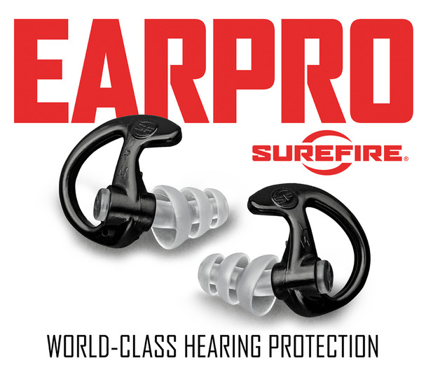 Surefire EarPro Defenders Triple Flanged Filtered Earplugs