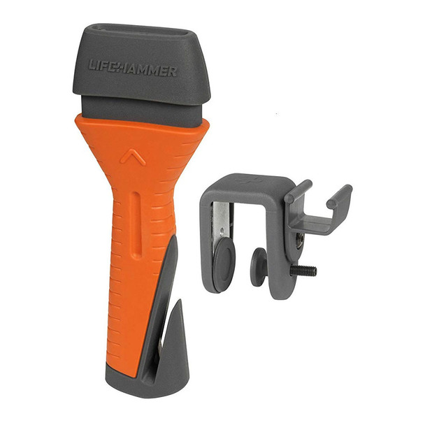 Lifehammer Automatic Emergency Escape & Rescue Hammer w/ Seatbelt Cutter