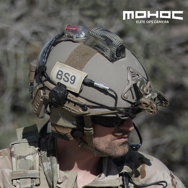 MOHOC Elite Ops Military-Optimized Helmet Camera